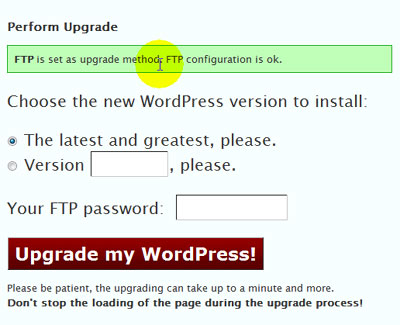 Upgrade to WordPress 2.7 Video